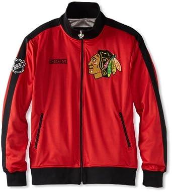 NHL Chicago Blackhawks Lord Stanley Track Jacket by Reebok