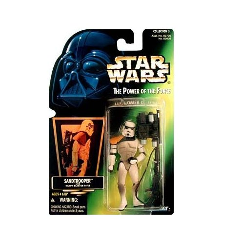 Star Wars: Power of the Force Green Card Sandtrooper Action Figure - 1