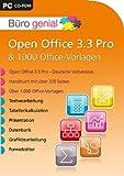 Büro genial Open Office 33 Pro 1000 Office Vorlagen import allemand
