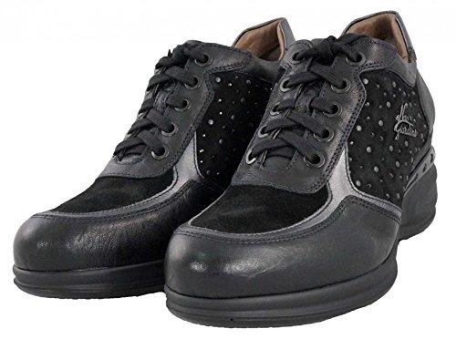 NeroGiardini - Sneakers con zeppa - Nero Giardini Donna - A616071D/100 - 39, Nero