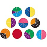 Learning Resources Deluxe Rainbow Fraction Circles