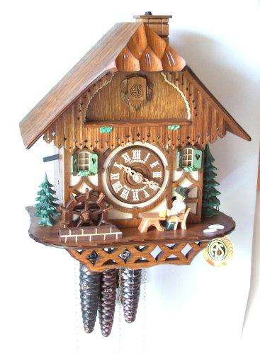 Schneider Black Forest 11 Inch Musical Beer Drinker Cuckoo Clock