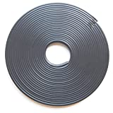 リムガード リムラインモール 8m タイヤ ホイール ガード キズ防止 キズ隠し カラー テープ DIY (ブラック)