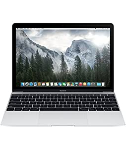 Apple MacBook Retina MF865D/A 30,4 cm (12 Zoll) Notebook (Intel Core M, 1,2GHz, 8GB RAM, 512GB SSD, Intel HD 5300, Mac OS) silber