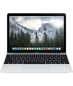 Apple MacBook Retina MF855D/A 30,4 cm (12 Zoll) Notebook (Intel Core M, 1,1GHz, 8GB RAM, 256GB SSD, Intel HD 5300, Mac OS) silber