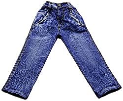 Boyhood Boys' Denim Jeans (j5061-sk-22 _ 9 - 10 Years, Blue)