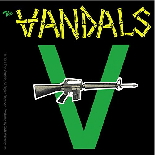 C&D Visionary The Vandals with Gun Sticker