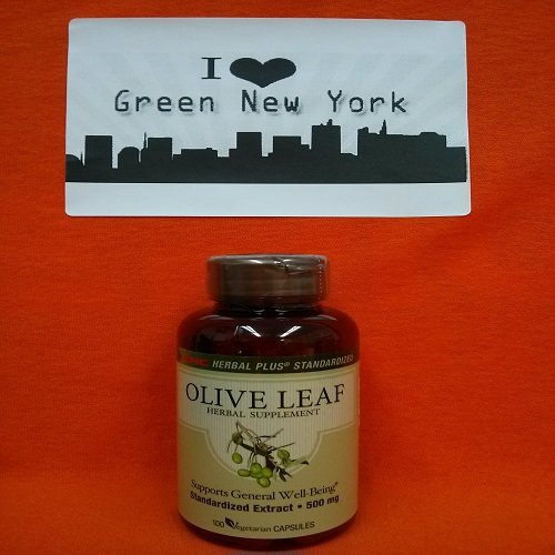 Gnc Herbal Plus Olive Leaf, Vegetarian Capsules, 100 Ea