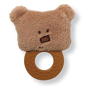 "Gund Simply Modern Bear Teether 4"" Plush"