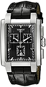 Tissot Men's T0617171605100 Analog Display Quartz Black Watch