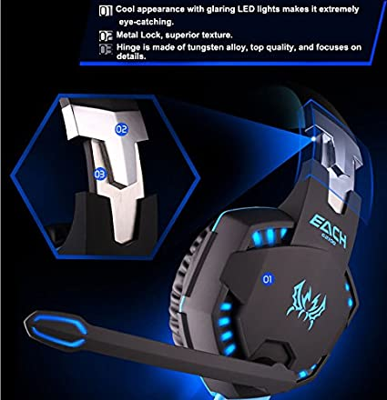 Each G2100 Over Ear Gaming Headset