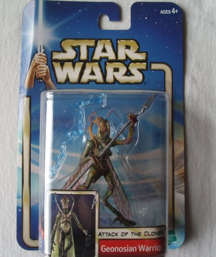 Star Wars: Episode 2 Geonosian Warrior (With Backdrop) Action Figure (Star Wars Episode 2 Figures compare prices)