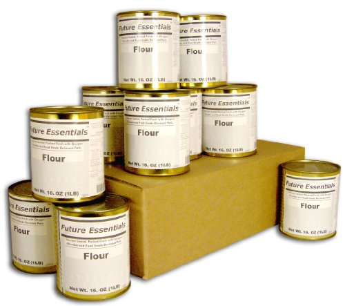 Case of Future Essentials Canned All Purpose White Flour (Canned Emergency Food compare prices)