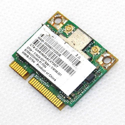 Hp Broadcom Half Bcm943224Hms Wifi Card 518434-001 802.11Abgn Bcm4322 Dual Band
