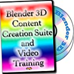 3D Content Creation Suite and Video Training 2-DVDs set for Windows, Mac OS X and Linux