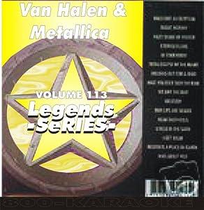 Van Halen & Metallica Karaoke Disc - Legends Series CDG