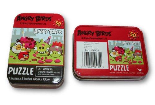 Angry Birds Mini Tin Kids Fun Puzzles - 1