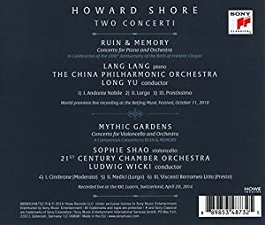 Howard Shore: Two Concerti by Sony Classical