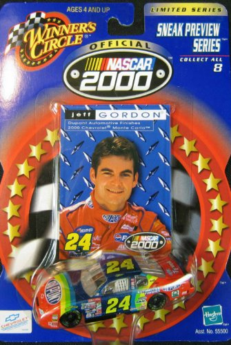 Jeff Gordon #24 Sneak Preview Series - 1