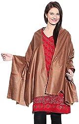 Shawls Of Kashmiri Women's Shawl (Maroon, L)