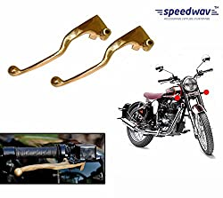 Speedwav Brass Bike Clutch & Brake Levers-Royal Enfield Classic 350