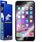 """ArmorSuit MilitaryShield - Apple iPhone 6 Plus Screen Protector (Case Friendly) (5.5"""") Anti-Bubble Ultra HD - Extreme Clarity & Touch Responsive Shield with Lifetime Free Replacements"""