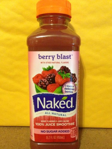 Naked Smoothie Berry Blast 15.2 FL OZ - 2 Pack - (082592988157)