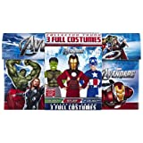 The Avengers Costume Trunk: Captain America, The Hulk & Iron Man Size Small 4-6x