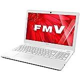 富士通 LIFEBOOK AH50/X 15.6型 ノートパソコン アーバンホワイト FMVA50XWP