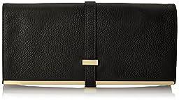 olivia + joy Brandee Clutch,Black,One Size