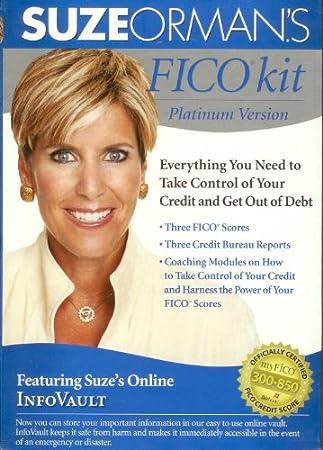 Suze Orman's FICO kit (DVD)