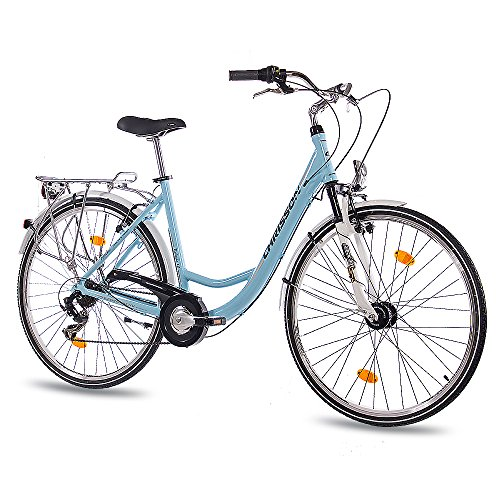 28-Zoll-LUXUS-ALU-CITY-BIKE-DAMENRAD-FAHRRAD-CHRISSON-RELAXIA-10-mit-6-Gang-SHIMANO-light-blau