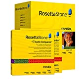 Rosetta Stone Version 3: Spanish (Spain) Level 1 and 2 Set with Audio Companion (Mac/PC CD)by Rosetta Stone