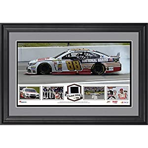 Dale Earnhardt Jr. 2014 Pocono 400 at Pocono Raceway Race Winner Framed Panoramic... by Sports Memorabilia
