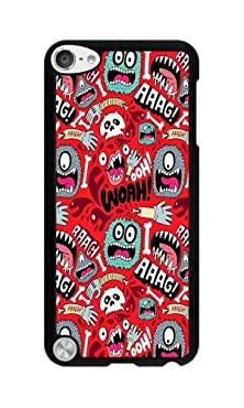 buy Phone Case Custom Iphone Ipod Touch 5 Phone Case Cute Monster Black Polycarbonate Hard Case For Apple Iphone Ipod Touch 5