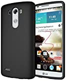 Diztronic Matte Back Black Flexible TPU Case for LG G3 (All Carriers) - Retail Packaging