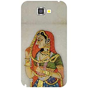 Samsung Galaxy Note 2 N7100 Back Cover - Traditional Designer Cases
