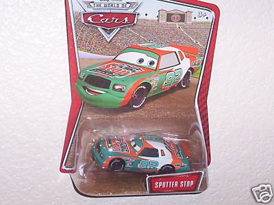 Disney Pixar World Of Cars Kmart Exclusive Diecast Car Sputter Stop No. 92