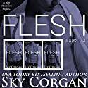 Flesh, Books 1-3 Audiobook by Sky Corgan Narrated by Holden Madagame, Robert Coltrane