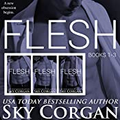 Flesh, Books 1-3 | Sky Corgan