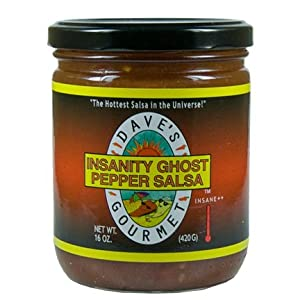 Dave's Gourmet Insanity Ghost Pepper Salsa from Dave's Gourmet