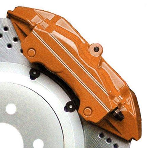G2 High Temperature Brake Caliper Paint System Set ORANGE G2169 (G2 Caliper Paint Kit Orange compare prices)