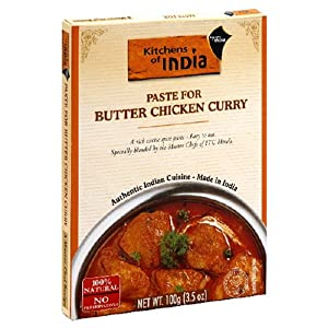 Best Deals Kitchens of India Paste for Butter Chicken Curry, 3.5-Ounce Boxes (Pack of 6)