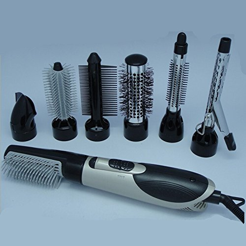 Adsled 110v 7 in 1 Hot Professional Style Free Multi-function Electric Comb Air Styler Hair Salon Dryer Brush Hairdryer (Hair Dryer 110v compare prices)