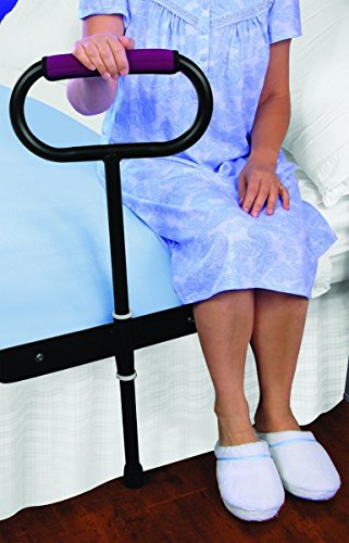 CUSHIONED BEDSIDE SUPPORT RAIL - GREAT SUPPORT FOR GETTING IN AND OUT OF BED! by Jobar International
