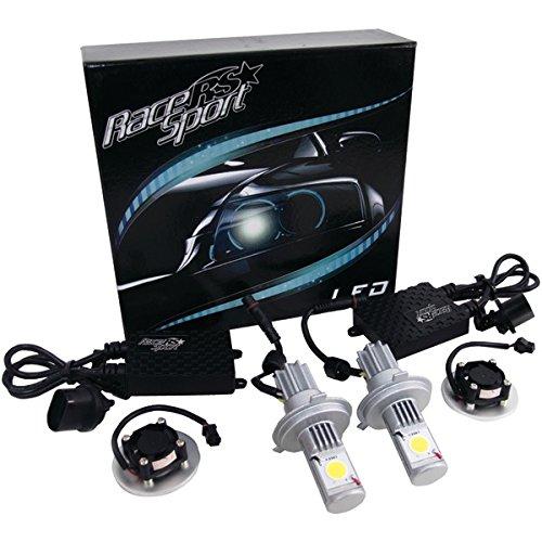 Race Sport H4-Led-G1-Kit 5,000K True Led Headlight Conversion Kit (H4-3 Hi/Lo Base)