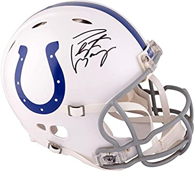 Peyton Manning Indianapolis Colts Autographed Riddell Pro-Line Revolution Authentic Helmet - Fanatics Authentic Certified