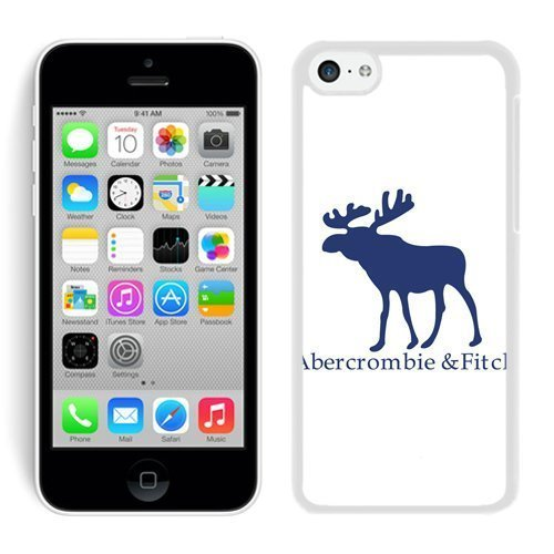 Abercrombie and Fitch White iPhone 5C Phone Case Genuine Custom Cover