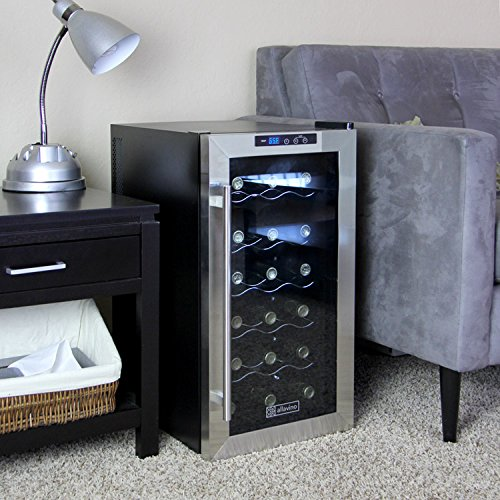 Allavino Cwr-18-1Ts Cascina Series Thermoelectric 18 Bottle Wine Refrigerator