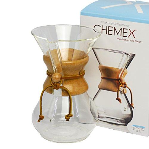 [ケメックス] CHEMEX コーヒーメーカー マシンメイド 6カップ用 ドリップ式 [並行輸入品]